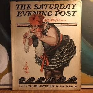August 26, 1922 The Saturday Evening Post